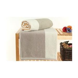 Zestaw 2 ręczników Felix Ivory, 70x140 cm