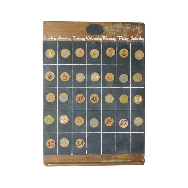 Kalendarz magnetyczny Vintage