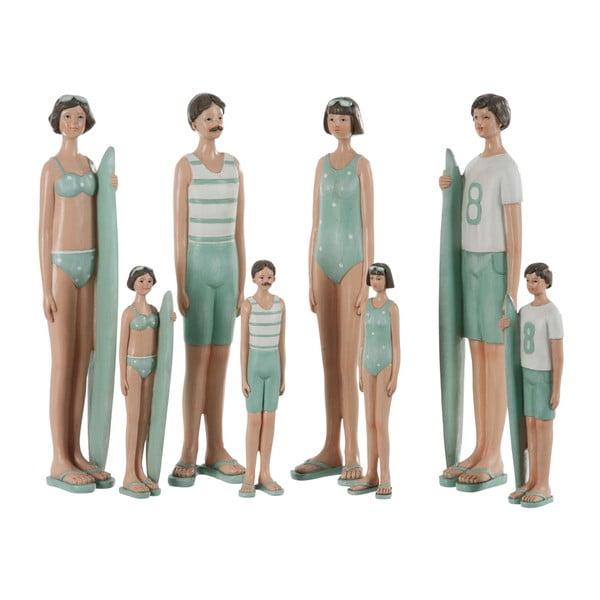 Zestaw 4 dekoracji Kids Swimsuit, 6x4x21 cm