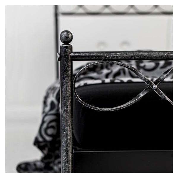 Łóżko metalowe Classic Leticia
