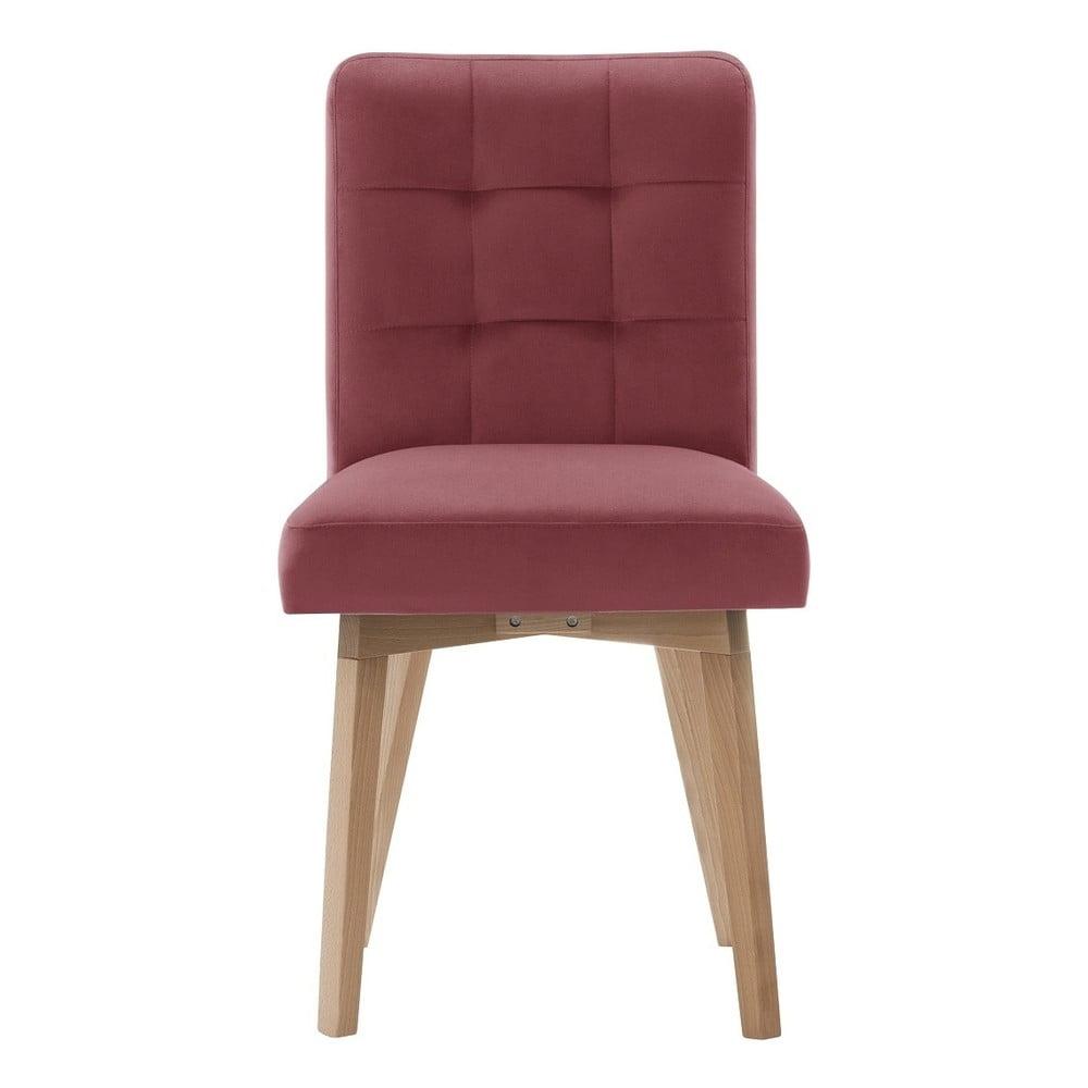 Różowe krzesło Rodier Haring