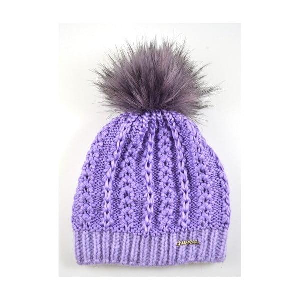 Czapka damska Perlik Light Purple
