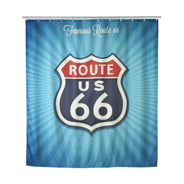 Zasłona prysznicowa Wenko Route 66