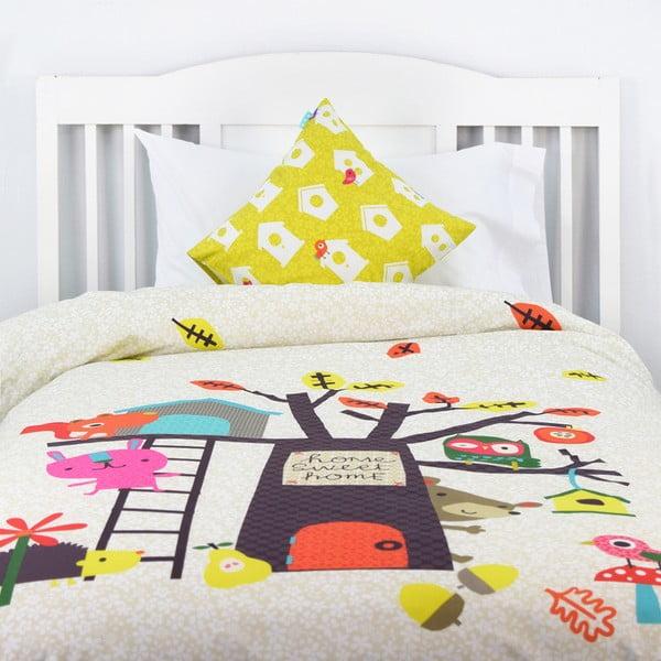 Pościel bawełniana dziecięca Baleno Sweet Home, 140x200 cm