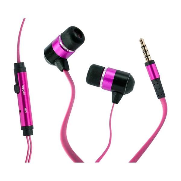 Słuchawki hi-Earphones, różowe
