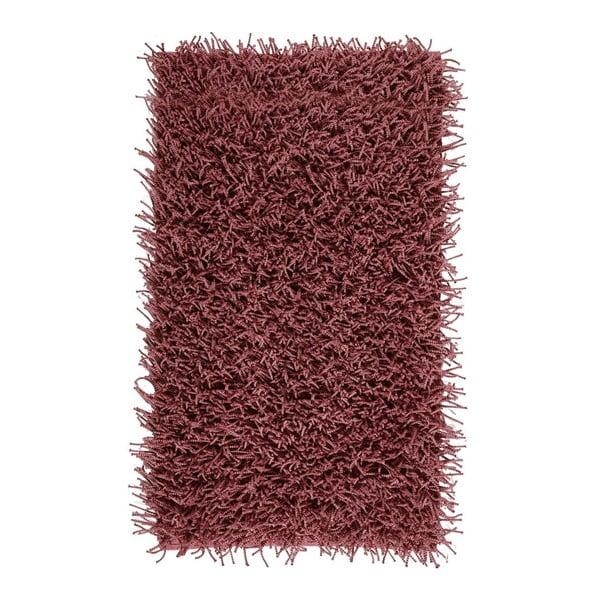 Ciemnoróżowy dywanik łazienkowy Aquanova Taro, 60x100cm