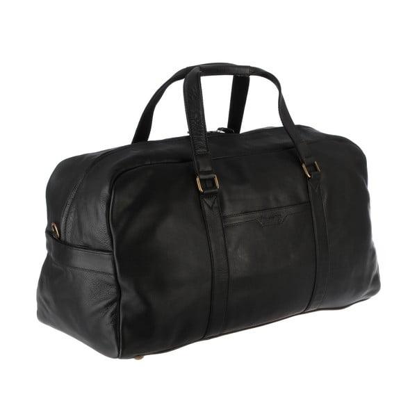 Skórzana torba męska Cargo Black