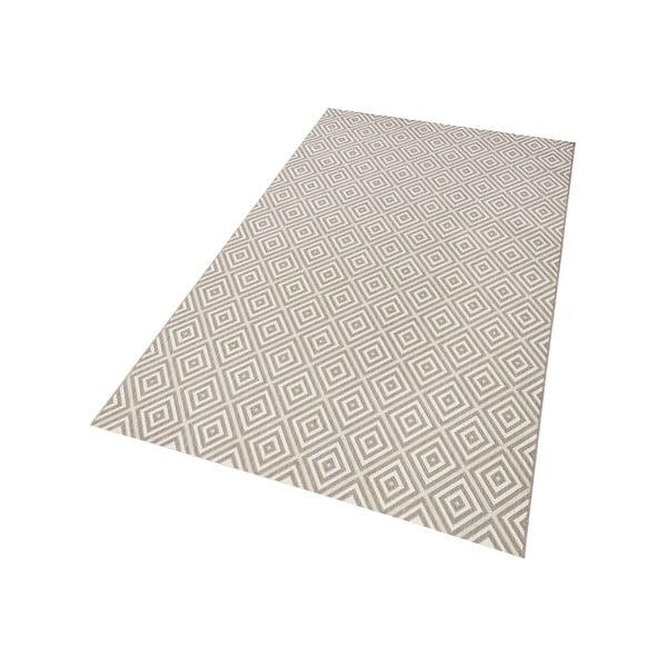 Szary dywan nadający się na zewnątrz Hanse Home Karo, 160 x 230 cm