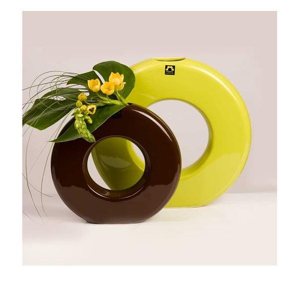 Wazon Seina 28 cm, zielony
