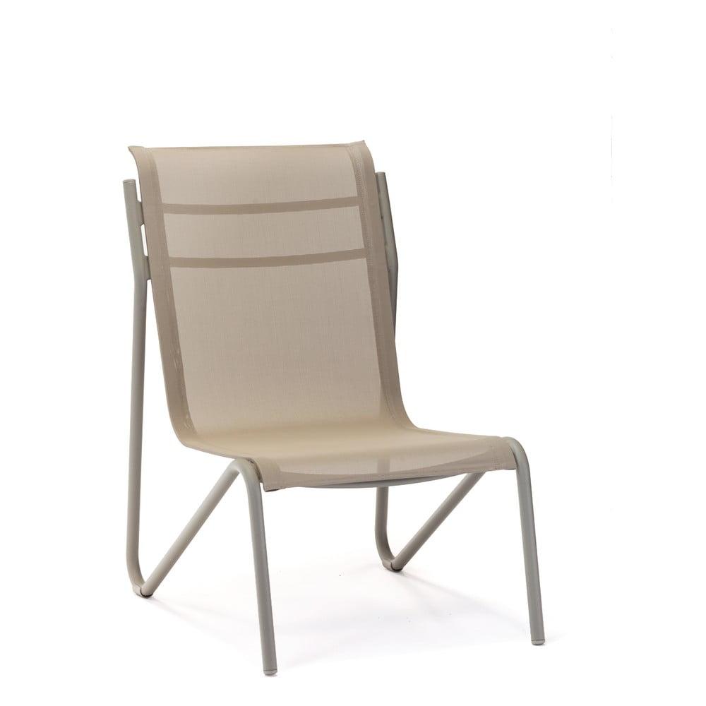 Zestaw 2 beżowych krzeseł ogrodowych Ezeis Montana