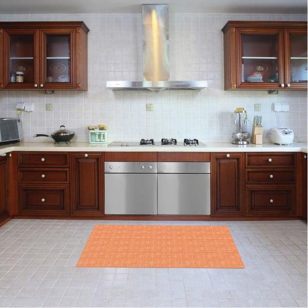 Dywan winylowy Ghazal Orange, 52x240 cm