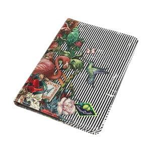 Etui na paszport i bilety lotnicze Zebra