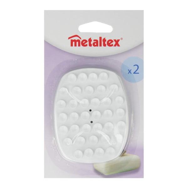 Zestaw 2 podkładek pod mydło Metaltex