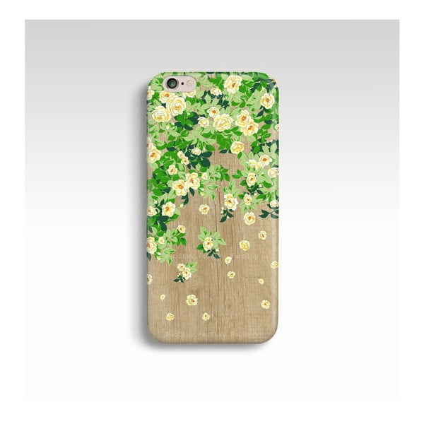 Etui na telefon Wood Roses na iPhone 6+/6S+