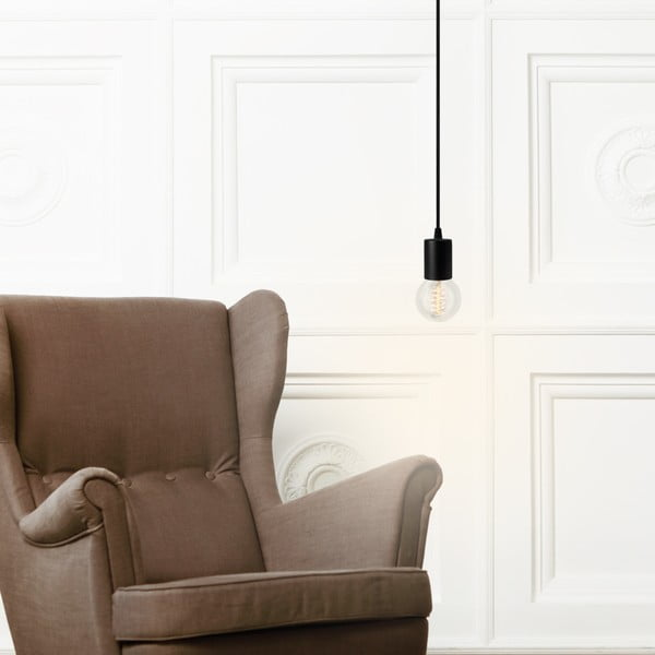 Lampa wisząca Cero, srebrny/czarny/srebrny