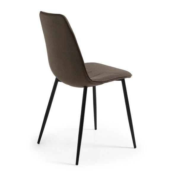Szare krzesło La Forma Trecs