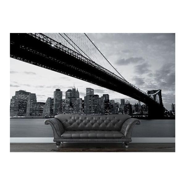 Tapeta wielkoformatowa NY i brookliński most, 315x232 cm