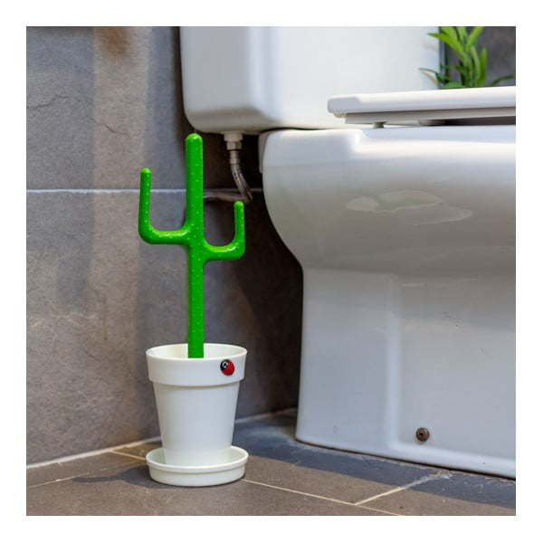 Szczotka toaletowa Cactus White