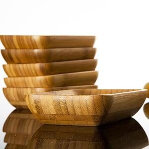 Zestaw 6 bambusowych miseczek Bambum Lateria