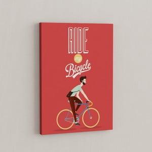 Obraz Wsiądź na rower, 50x70 cm
