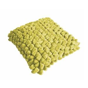 Limonkowa poduszka ZicZac Pebble, 45x45 cm