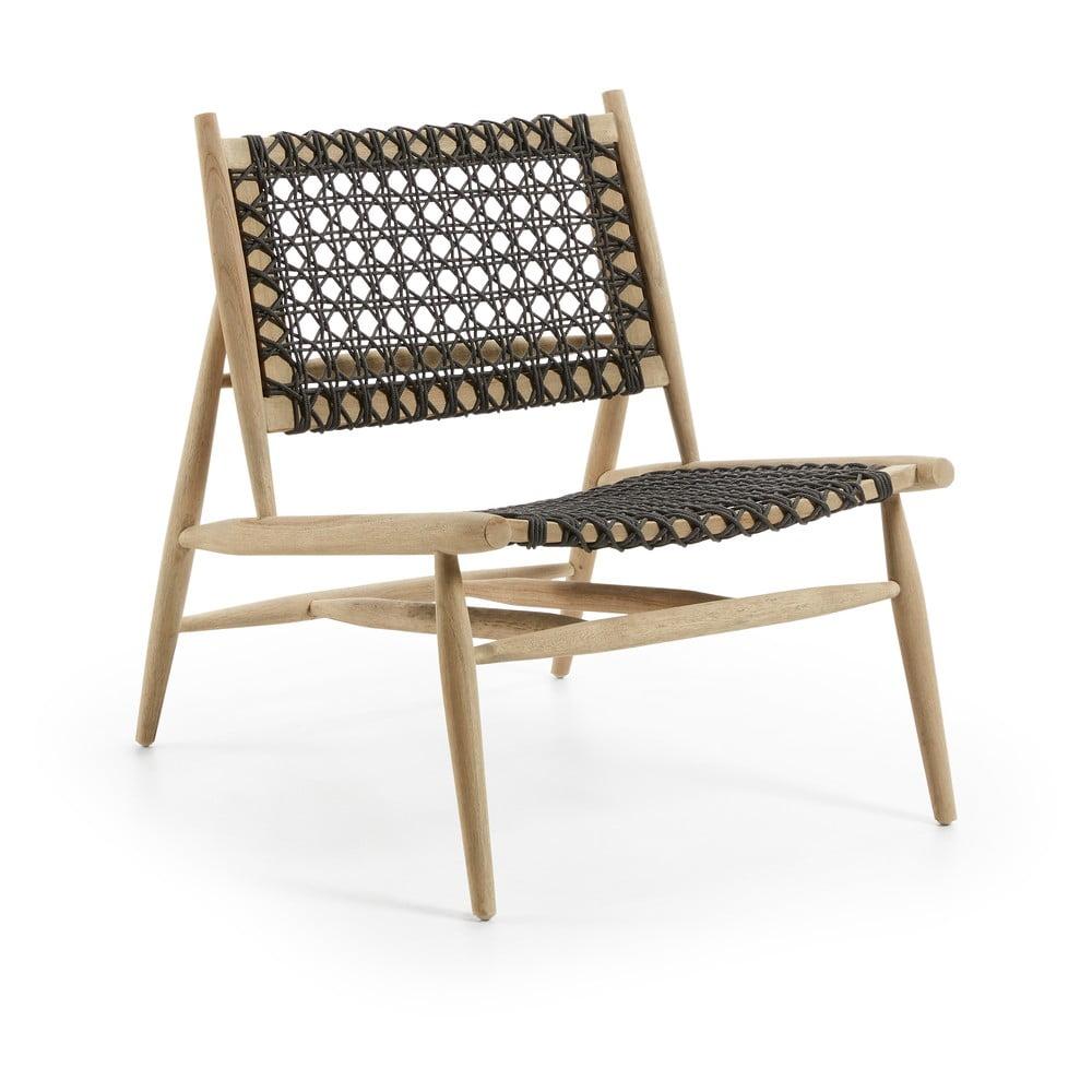 Fotel z drewna tekowego La Forma Unika