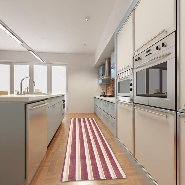 Wytrzymały dywan kuchenny Webtapetti Stripes Multi, 130x190 cm
