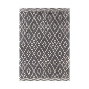 Ciemnoszary dywan Mint Rugs Ornament, 80x150cm