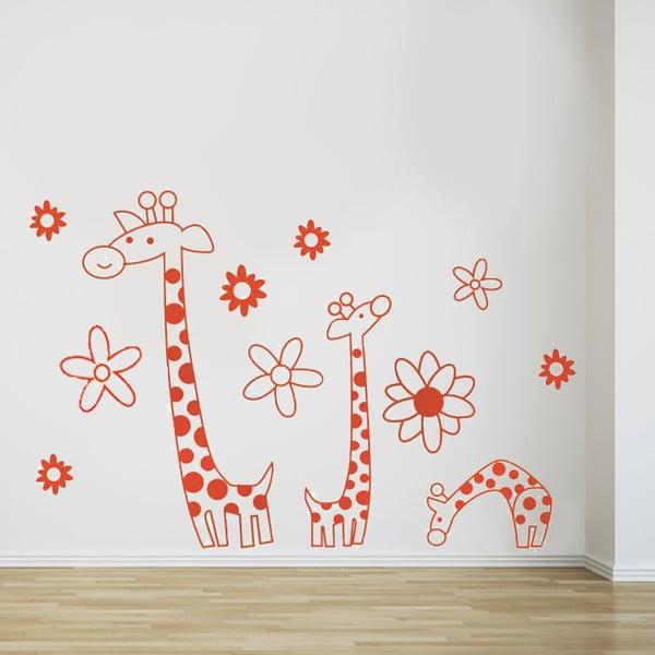 Naklejka ścienna Żyrafa, 60x90 cm
