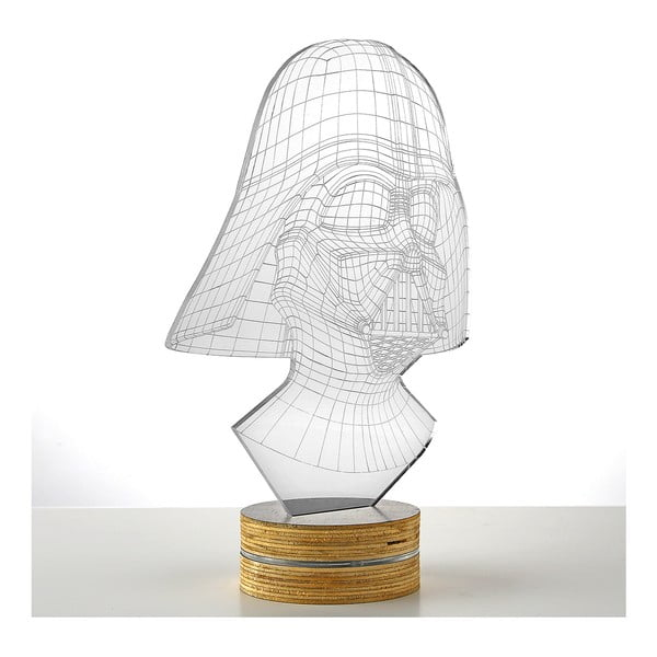 Lampa 3D stołowa Darth Vader