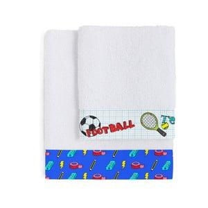 Zestaw 2 ręczników Sports, 50x100 cm i 70x140 cm