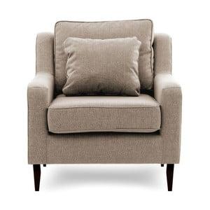 Beżowy fotel Vivonita Bond