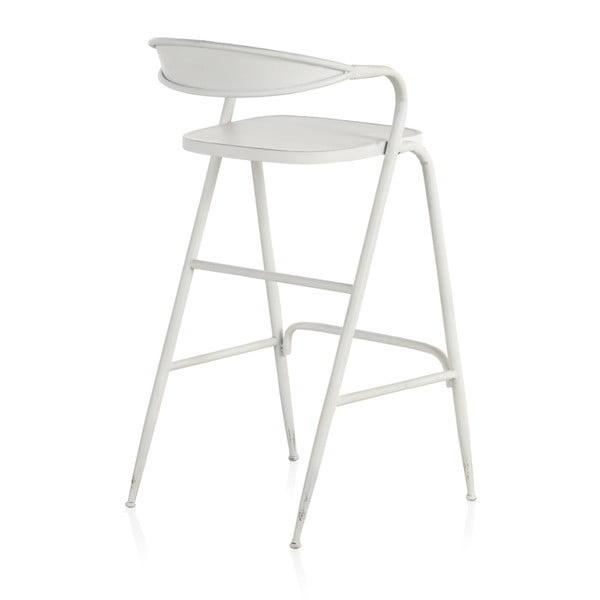 Biały metalowy stolik Geese Industrial Style