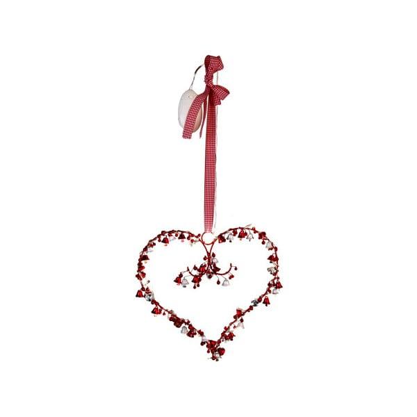Świecąca dekoracja Heart and Bells