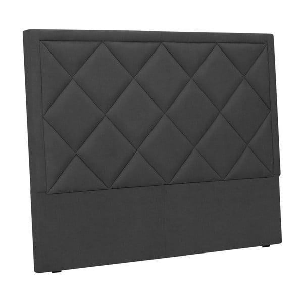 Ciemnoszary zagłówek łóżka Windsor & Co Sofas Superb, 180x120 cm