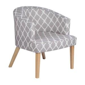 Fotel InArt Grey Geometric