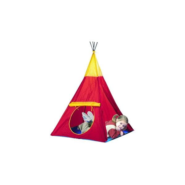 Namiot dziecięcy Indian, ciemnoczerwony