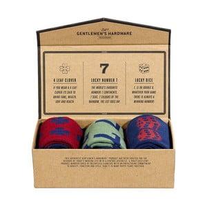 Zestaw 3 par skarpetek Gentlemen's Hardware Lucky Socks, rozm. 41-45