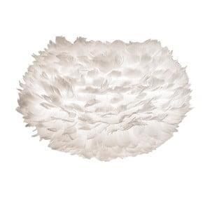 Biały abażur z gęsich piór VITA Copenhagen EOS, Ø45cm