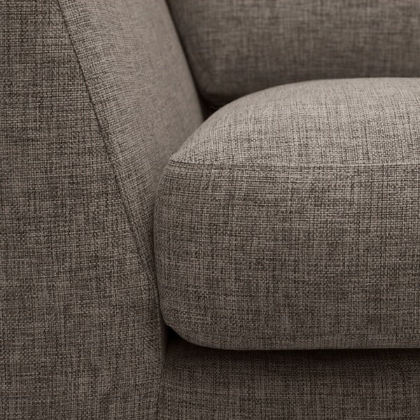 Brązowa sofa 3-osobowa Vivonita Monroe