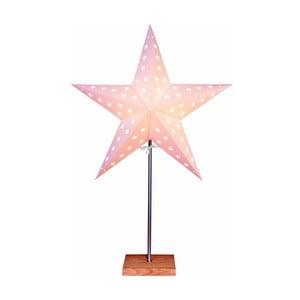 Gwiazda świecąca ze stojakiem Best Season Star, 68 cm