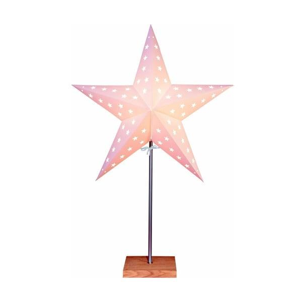 Świecąca gwiazda ze stojakiem Star, 68 cm