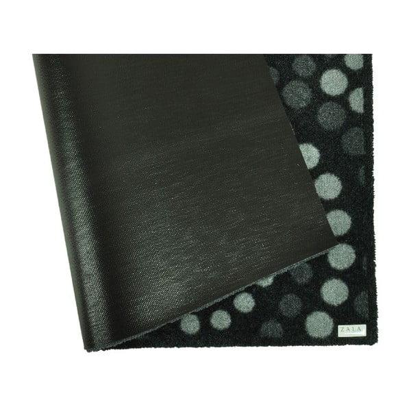 Chodnik podgumowany Zala Living Dots Grey, 120x200 cm