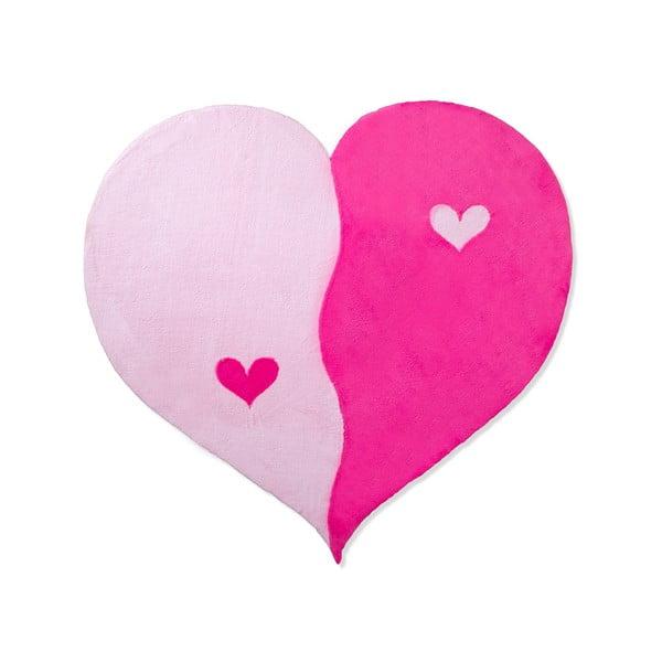 Dywan dziecięcy Beybis Pink Heart, 120 cm