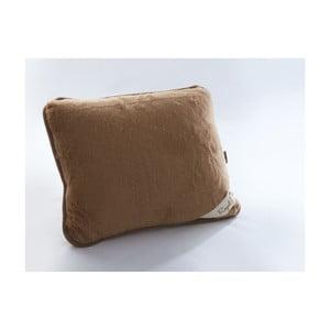 Poduszka wełniana Royal Dream Cami Brown, 50x60 cm