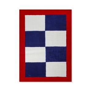 Dywan dziecięcy Mavis Blue and Red Checks, 100x150 cm