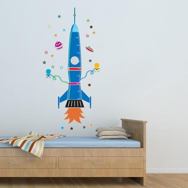 Naklejka dekoracyjna Colorful Rocket