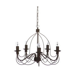 Ciemnobrązowy żyrandol Creative Lightings Chandelier