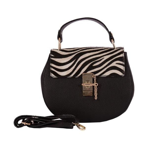 Skórzana torebka Andrea Cardone 3002 Zebra