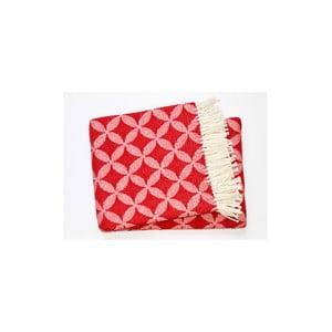 Koc Petalo Plaid Red, 140x180 cm